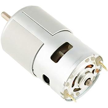 Moteur sans Brosse /à Courant Continu Moteur miniature /à grande vitesse Moteur /Électrique 12V 12000RPM pour Outil /Électrique