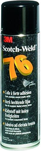 3M Sprühklebstoff 76, hohe Klebkraft 500 ml (1-er Pack) - 3m Spray