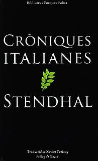 CRÒNIQUES ITALIANES par  TODO VILA LLUIS MARIA