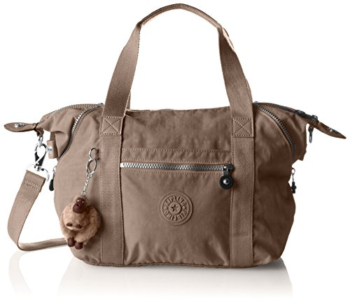 Kipling Womens Art S Top-Handle Bag Warm Grey