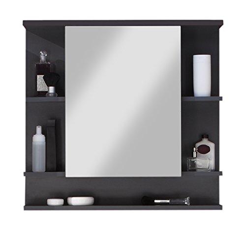 Miroir salle de bains avec tablette