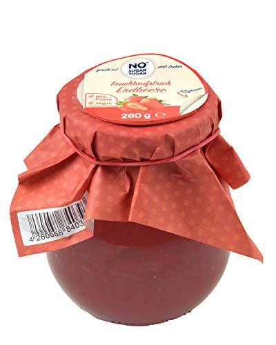 NO SUGAR SUGAR | Fruchtaufstrich Erdbeere ohne Zuckerzusatz (260g)
