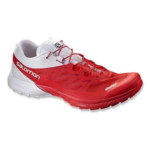 Salomon S-Lab Sense 5 Ultra, Chaussures de Running Compétition Mixte Adulte Rouge - Rouge