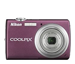 Nikon Coolpix S220 10MP Digital Camera with 3x Optical Zoom and 2. 5 inch LCD (Plum)