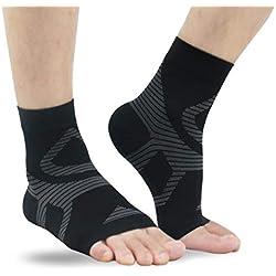 UONNER Kompressionssocken Compression Socks Laufsocken für Damen Herren, Sport, Reisen, Laufen,Fitness ,Klettern ,Bergsteigen
