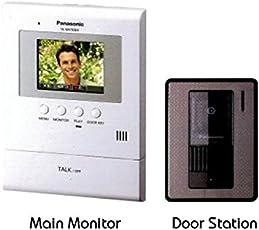 Panasonic Home Security Video Door Phone Intercom System VL-SV30BX
