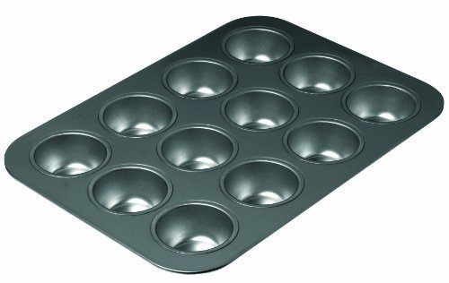 Chicago Metallic Non Stick 12 Cup Muffin Pan by Chicago Metallic Chicago Metallic Non-stick Muffin Pan
