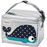 3 sprouts - lunch bag, isolierte Kühl Tasche / Wal
