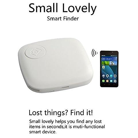 OnO® Super dünn Smart Tracker Anti Verloren Tag Alarm GPS Pet Locator Sprachaufnahme Fernauslöser Für Kinder / Mappe / Beutel / Tier / Telefon Schwarz (Super Finder-system)