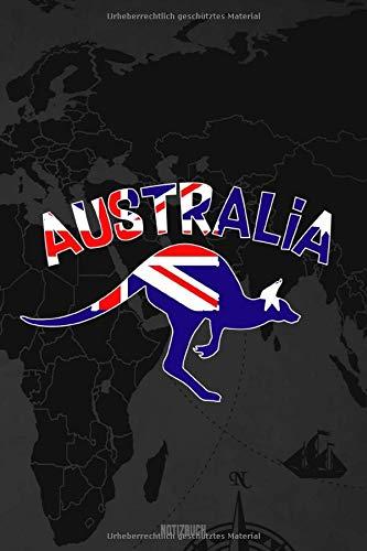 Reisetagebuch Australien: A5 Notizheft liniert für deinen Urlaub; Reisebuch, Notizbuch, Tagebuch für dich selbst zum Listen, Notizen, Checklisten Schreiben oder als Reisegeschenk