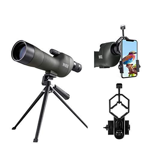BNISE® Telescopio terrestre 20-60X60