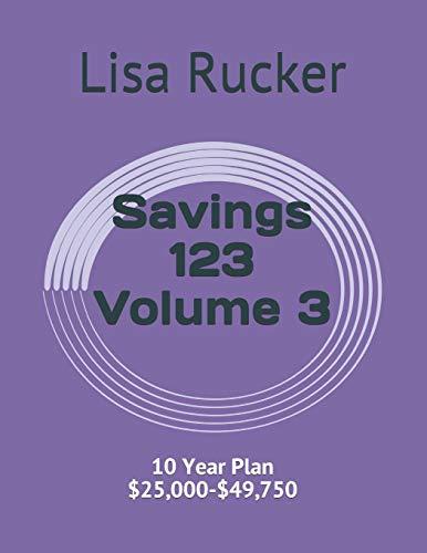 Savings 123: 10 Year Plan $25,000-$49,750