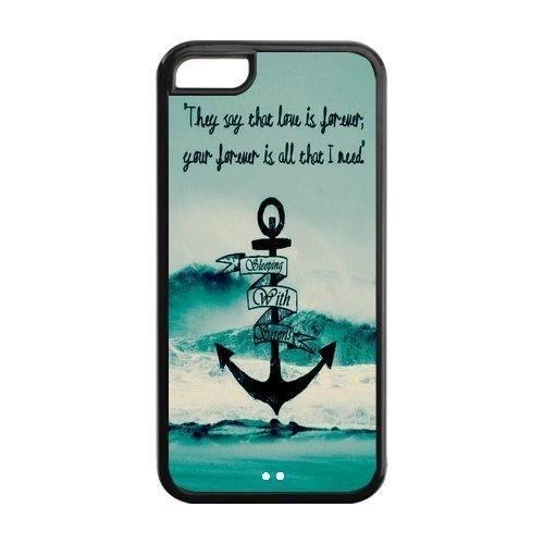 Custom Popular Rock Band SWS Sleeping With Sirens Case for iPhone 5C Rubber Cover Case-5CSWS116