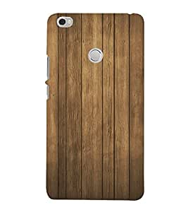 FUSON Wood Wall Background Wooden 3D Hard Polycarbonate Designer Back Case Cover for Xiaomi Mi Max :: Xiaomi Mi Max Prime