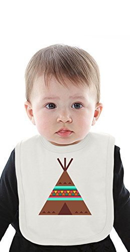 Tipi Organic Baby Bib With Ties Medium