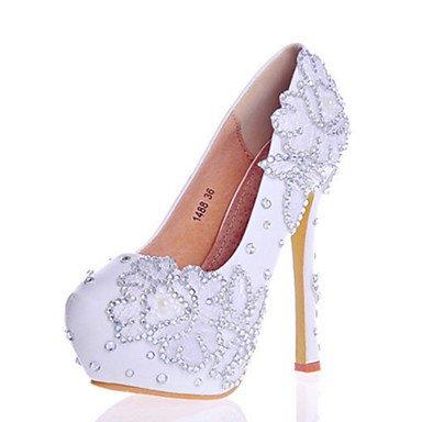 Zormey Frauen Heels Fr¨¹hling Sommer Herbst Komfort Neuheit Lackleder Hochzeit Party & Amp Abendkleid Stiletto Heel Crystal Funkelnden Glitter US6.5-7 / EU37 / UK4.5-5 / CN37