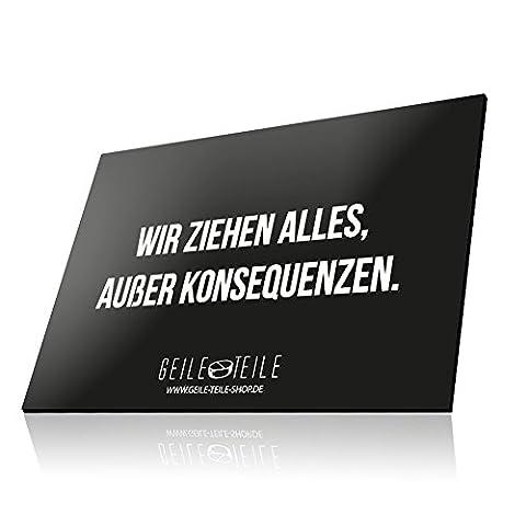 GEILE TEILE Acryglasplatte