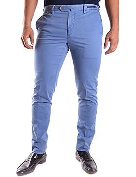 Pt01 Hombre MCBI247039O Azul Algodon Pantalón
