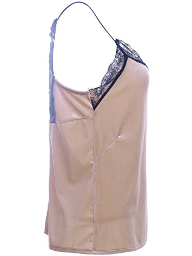 Simplee Apparel Canotta - donna Champagne