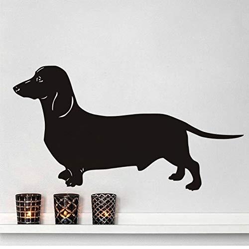 lyclff Wandtattoos Spaß Hund Wohnkultur abnehmbare Aufkleber Kunst Wandtattoo Baby Tier Wandbild -