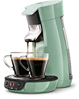 Senseo Viva Cafe HD7829/10 Pod coffee machine 0.9L Green coffee maker - coffee makers (freestanding, Pod coffee machine, Coffee pod, Caffe crema, Green, Buttons)