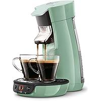 Senseo Viva Café HD7829/10 - Cafetera (Independiente, Máquina de café en cápsulas, 0,9 L, Dosis de café, 1450 W, Verde)