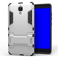 Wkae & reg; Huawei P8case, 2en 1Nueva Man hierro estilo híbrido doble capa armadura Defender PC Hard Cases con soporte [antigolpes Case] para Huawei Ascend P85.2pulgadas por Diebell