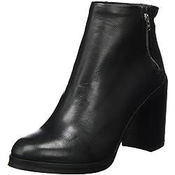 Royal Republiq Damen Bridge Zip Boot Pumps, Schwarz (Black), 41 EU