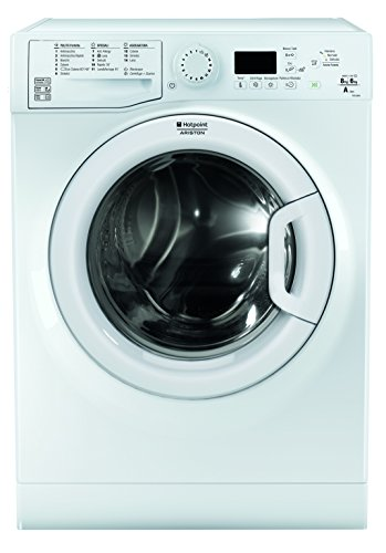 Hotpoint FDG 8620 IT freestanding Front-load A White washer dryer - Washer Dryers (Front-load, Freestanding, White, Left, Buttons, Rotary, Cold)