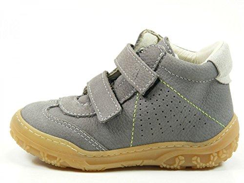 Ricosta 14-21400 Samo Schuhe Lauflernschuhe Weite mittel Grau