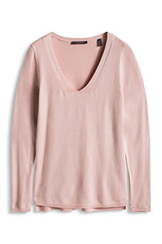 Esprit kuschelig weiche Qualität - Robe - Femme Rose - Rosa (NUDE 685)