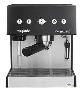 Magimix Expresso Automatic exprimé Machine 1,8l black, Stainless Steel–Coffee Makers (exprimé Machine, Black, Stainless Steel, GROUND Coffee, Coffee, 250x 240x 300mm, exprimé)
