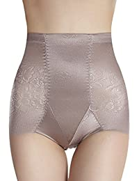TININNA Briefs Mujer Bragas Braguitas Moldeadoras Calzones Elásticos de Alta Cintura Adelgazamiento Control Panza Lencería Body Shapewear (Gris claro XL)