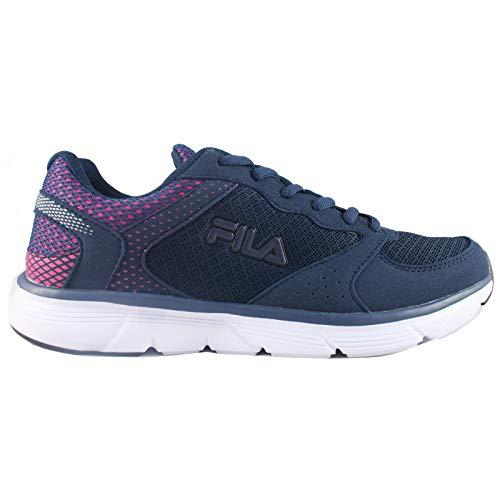 Fila - Object Run Blu Sneakers Scarpe Donna Corsa Running Fitness Sport - 40, Blu