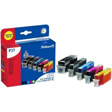 Preisvergleich Produktbild Pelikan 4111791 Tinte P37 Multipack schwarz