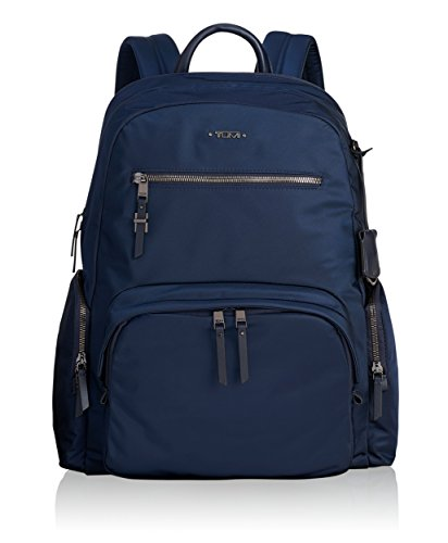 Tumi Voyageur Carson Backpack Mochila Tipo Casual, 43 cm, Azul (Navy)