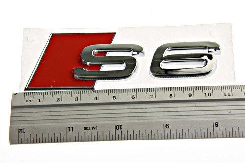 Preisvergleich Produktbild Schriftzug S6 Original Audi A6 Tuning Emblem Heckklappe Typzeichen Chrom