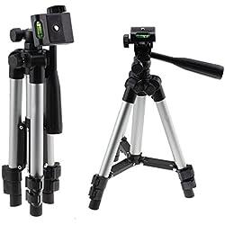 Navitech Trépied en Aluminium Léger Compatible avec CanonEOS 80D/700D/760D NU/750D/760D