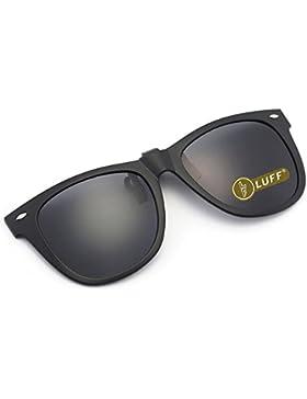 Gafas de sol polarizadas con clip Unisex-Elegantes y cómodos Clips Gafas de sol miopes para exterior / conducción...