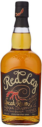 Red Leg Spiced Rum, 70 cl