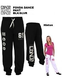 Urban Dance - Fonda Dance Pant - Schwarz Silber UD020