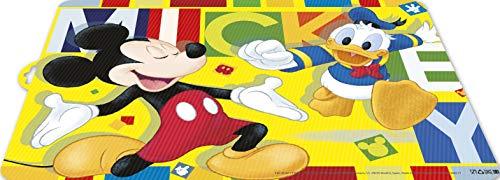 ALMACENESADAN 2012 Tovaglia Disney acquerelli Topolino; Prodotto di plastica; BPA Gratuito; Dimensioni 43x29 cm