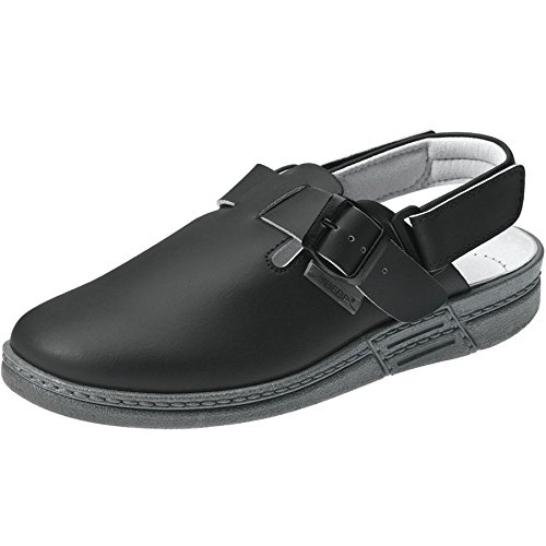 Abeba 7209-42 The Original Chaussure Sabot Taille 42 Noir