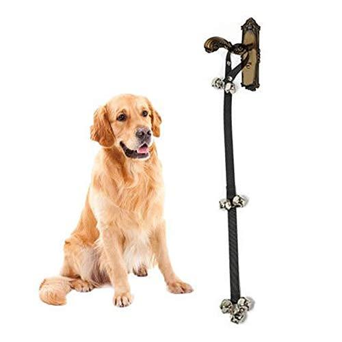 YXGS Hunde-Türklingel zum Öffnen von Türen, verstellbar, für Hundehaus, mit Glocken (7 Glocken)