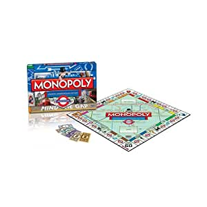 """Winning Moves """"London Underground"""" Monopoly Board Game"""