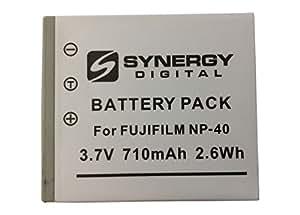 Batterie pour Appareil Photo Numérique Fujifilm Finepix F810 Lithium Ion (710 mAh 3.7v) - Batterie de Remplacement pour Fuji NP40