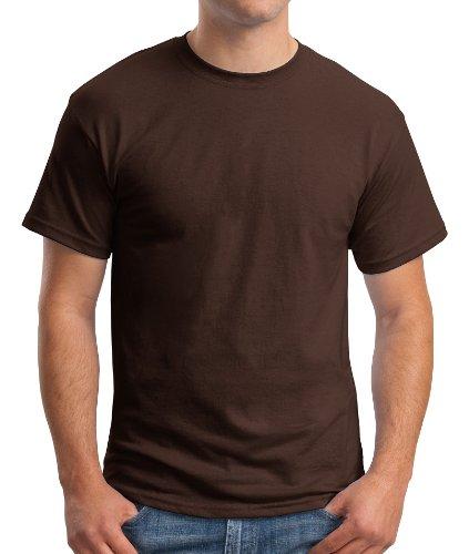 Hanes Comfort Blend Cotton Poly T-Shirt Schokolade dunkel