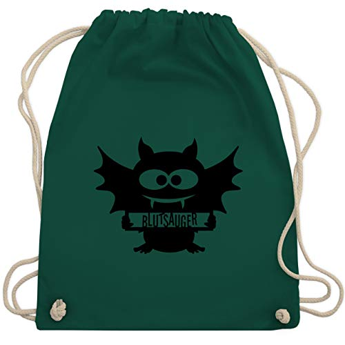 Halloween - Fledermaus - Unisize - Dunkelgrün - WM110 - Turnbeutel & Gym Bag