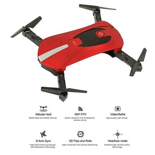 ZLC UAVFour-Axis-Flugzeuge, 2 Millionen HD-Kamera-WiFi-Mobiltelefonsteuerung mit Fester Höhe Luftbildfotografie EIN-Knopf-Startlandung