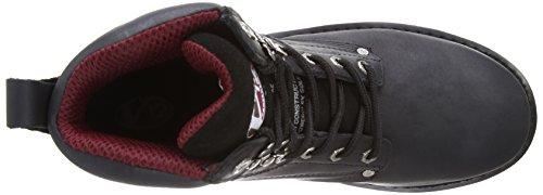 V12 Boulder, Rich Mahogany Hide Safety Boot, 08 UK 42 EU, Mahogany Noir (black)